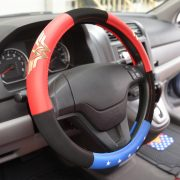 Leather Steering Wheel Cover (2 colors)